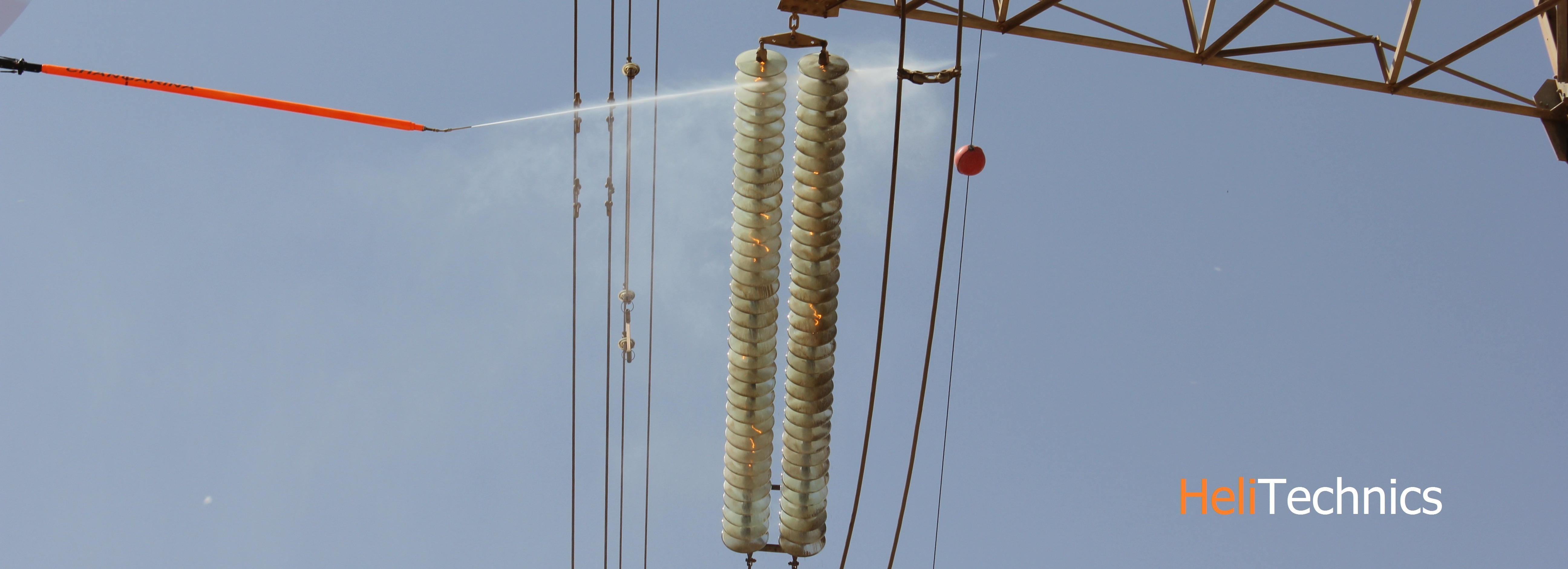 Live Line Washing Insulators