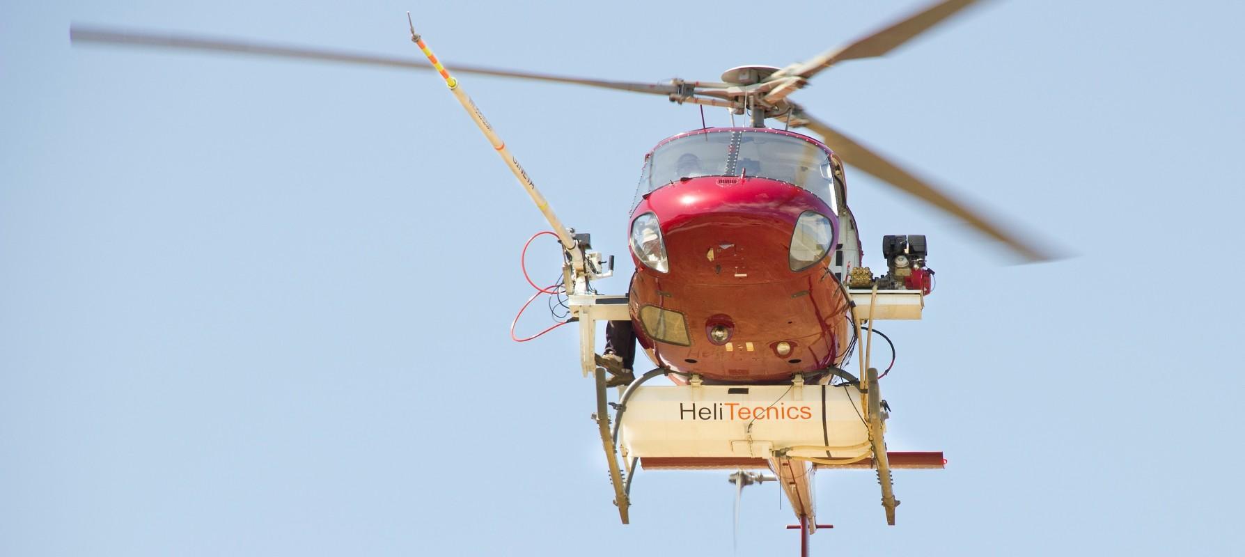 Lavado de Aisladores Helicoptero - Venta Equipos Lavado